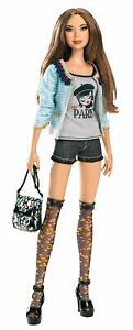 BNIB Rare Unopened Collectable Barbie Bonjour Bizou Stardoll - W2203 - Brunette