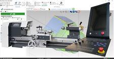 2 Achsen CNC Steuerung kompl. 6 - Wabeco CC-D6000 Drehmaschine mit ECAM 3.0 CAM