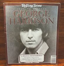 "Rolling Stone Special Edition George Harrison ""A Beatle Remembered"" Magazine!"