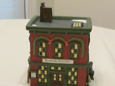 Department 56 New England Village Woodridge Post Office Retired