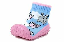 Skidders Infant Toddler Girl's Sneakers Pink Pigs Fly Shoes Sz: 8 (24 Months)