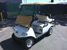 New 2020 white Evolution EV Golf Cart Car Classic 4 Passenger seat 48v WARRANTY