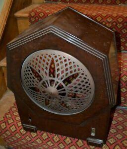 Philips 2634 bakelite valve radio cabinet - 1931