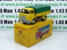 DT74E Coche 1/43 Reedición Dinky Toys Atlas: 584 Camión Berliet Gak Cubierto
