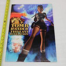 TOMB RAIDER Lara Croft l'ultima rivelazione/DESTREGA PS1 GAME Magazine Poster
