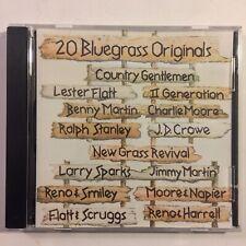 20 Bluegrass Originals CD Various Artists Flatt & Scruggs Ralph Stanley & More