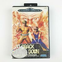 Crackdown | Sega Mega Drive | Good Cond | PAL | Missing Manual