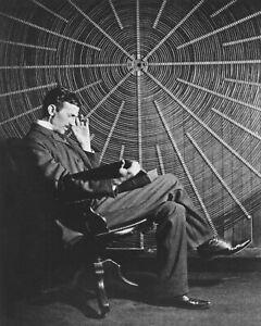 Nikola Tesla 8X10 Photo Picture Image American inventor engineer futurist AC #7