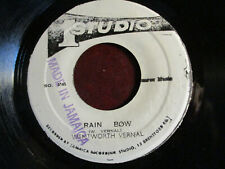 "RARE REGGAE 7"": WENTWORTH VERNAL ""RAIN BOW' B/W NEW ESTABLISHMNT 1973 STUDIO ONE"