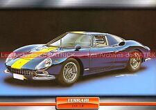 FERRARI 250 LM ( L M ) 1963 : Fiche Auto Collection