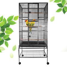 Neuf volière cage à oiseaux volière cage volière oiseau perroquet hauteur 175cm