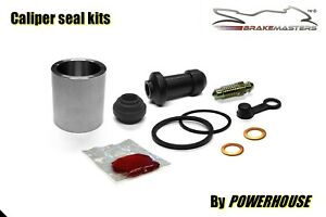 Honda NSR80 rear brake caliper piston & seal rebuild repair kit set 1990