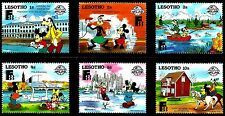 DISNEY STAMPS, LESOTHO, YEAR 1988, MNH, LOT 30