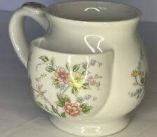 Andrea By Sadek Ceramic Porcelain Teacup With Tea Bag Holder 3�Diameter No Chips