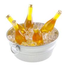 Miniature Dollhouse FAIRY GARDEN - Mini Beer Bucket With Ice - Accessories