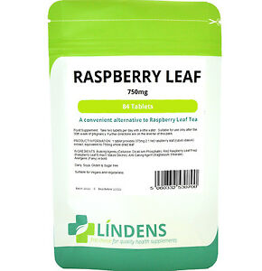 Lindens Raspberry Leaf Tea Tablets  - the midwife's favourite - (84 pack)