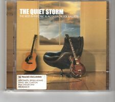 (HP817) The Quiet Storm, The Best in Electric & Acoustic Rock - 2003 double CD