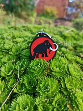 Mammut Trinket Key Keychain Badges Japan Extreme Arcteryx Patagonia Red