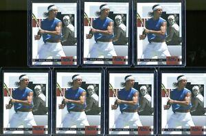 Rafael Nadal 7 Card Lot 2005 Ace Authentic Signature Series Tennis Cards #7