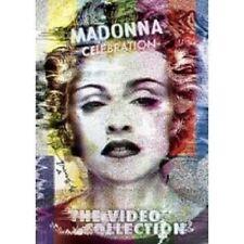 "MADONNA ""CELEBRATION (BEST OF)"" 2 DVD 47 TRACKS NEW"