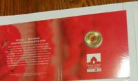 Aust 2018 $2 Red Poppy Remembrance Day Armistice C mintmark coin in Card Folder