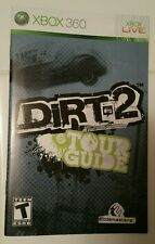 Xbox 360 Dirt 2 Tour Guide Instruction Booklet Insert Only Microsoft