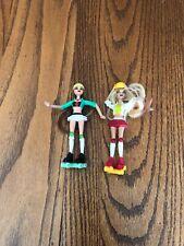 2007 Mattel McDonald's Rollerskating Toy Figurine Dolls Pair