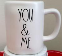 "Rae Dunn ""You And & Me"" Mug💖 Valentines /Love/White/New"