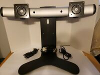 Ergotron LX Widescreen Dual Display Lift Standor Monitor Stand Preowned Great