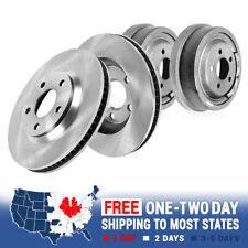 For Blazer K1500 Tahoe K1500 Yukon Denali Front Brake Rotors & Rear Brake Drums