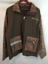 Ing Loro Piana & Co STORM SYSTEM Rain & Wind Protection XL Jacket Cotton Leather