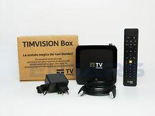 Tim Vision tim Box Sagemcom 2021 decoder dvb T2 android 4k netflix dazn NUOVO