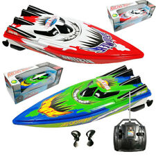 Toy Speed Boat Non Rechargeable High Speed Remote Control Yacht 2 Motors Rapid