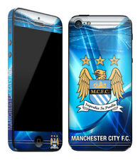 iPod iTouch 5 Skin Sticker Manchester City Football Club Official Sky Blues New