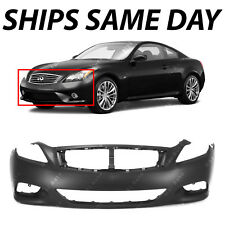 NEW Primered - Front Bumper Cover for 2008-2015 Infiniti G37 Q60 Coupe 08-15