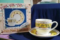 Mary Engelbreit Time For Tea Cup/Saucer Set