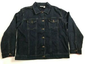 Chico's Women's Denim Jacket Size 2