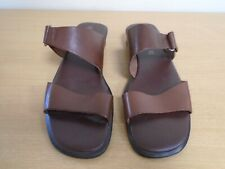 Montego Bay Club Men's Brown Leather Sandals Size UK 12 / EU 45