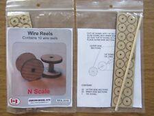 Osborn Model Kits N Scale  Wire Reels 10 pack RRA-3018  Bob The Train Guy
