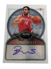 2006-07 Bowman Sterling #72 Vassilis Spanoulis Autograph Rookie Card Rockets