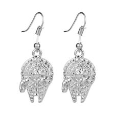 NEW Star Wars Millennium Falcon Hans Solo Silver Plated Drop Earrings
