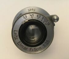 LEICA LEITZ ELMAR  F = 5cm (50mm) 1:3.5