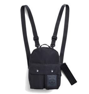 adidas Classic Originals Mini Backpack - Black