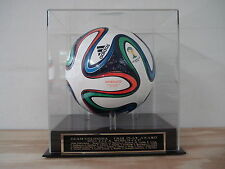 Display Case For Your Team Colombia 2014 World Cup Team Signed Soccer Ball