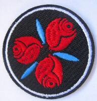 Rose Rosen Aufnäher Patch Roses 231