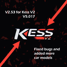 Ksuite version 2.53 working for KESS v2 5.017 v2.53 Software only
