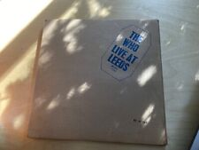 The Who: Live At Leeds MCAD-11230 Limited and numbered #001284
