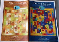Nature's Palette Quilt Pattern by Michele Scott  For Lyndhurst Studio