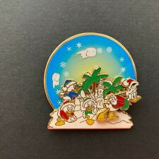 Donald Duck and Nephews - Snow Ball Fight - Spinner Disney Pin 42711