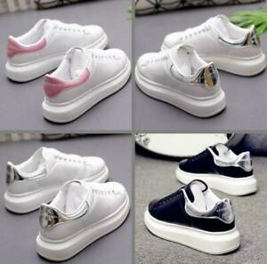 White Shoes Designer Wedges Chunky Platforms Sneakers Mens Womens Athletic Shoes